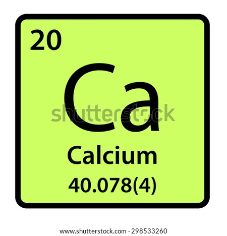 Element calcium periodic table stock illustration 298533260 element calcium of the periodic table urtaz Gallery