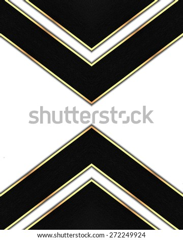 Element for design. Template for design. White background with black lines - stock photo