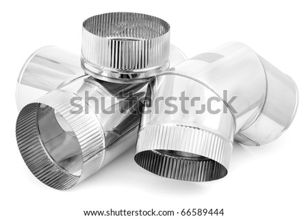 Element of stainless steel flues