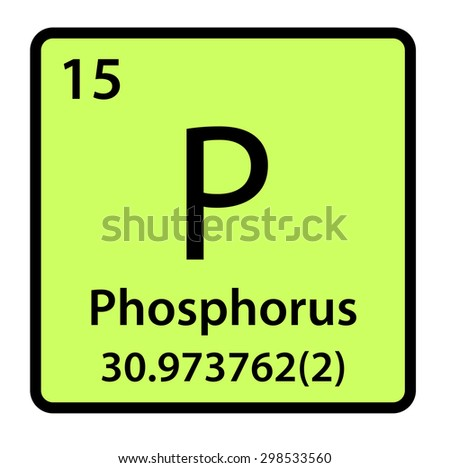 Element phosphorus periodic table stock illustration 298533560 element phosphorus of the periodic table urtaz Image collections