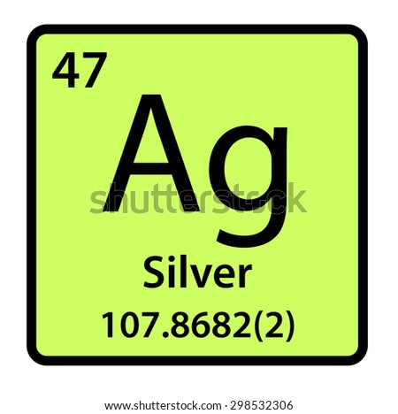 Element silver periodic table stock illustration 298532306 element silver of the periodic table urtaz Image collections