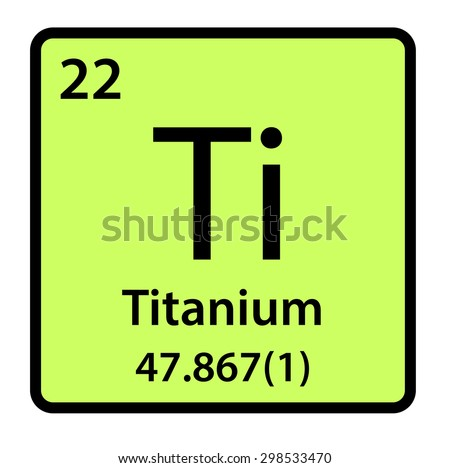 Element Titanium Of The Periodic Table