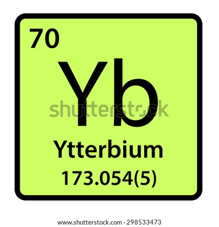 Element ytterbium periodic table stock illustration 298533473 element ytterbium of the periodic table urtaz Images
