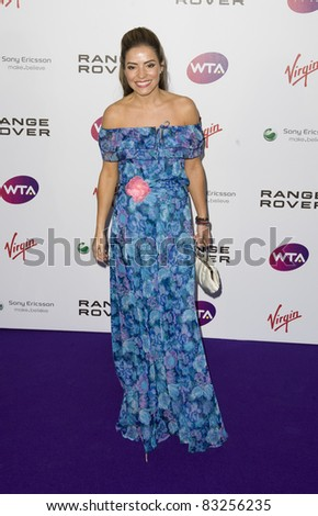 Elen Rivas arriving for The WTA Pre Wimbledon Party, Rooftop Gardens, Kensington London. 16/06/2011  Picture by: Simon Burchell / Featureflash
