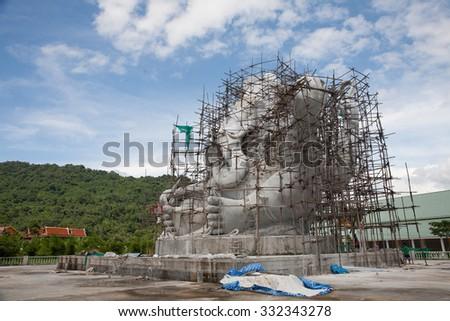 elephant-headed deity G - stock photo