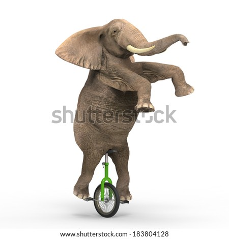 how to ride a giraffe unicycle
