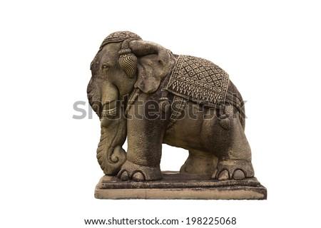 Elephant Statue. - stock photo