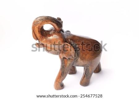 Elephant Wood - stock photo
