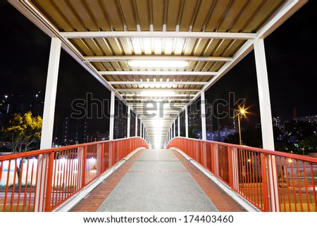 Elevated bridge - stock photo