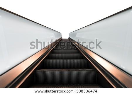 Elevator  isolated Amsterdam Cs - stock photo