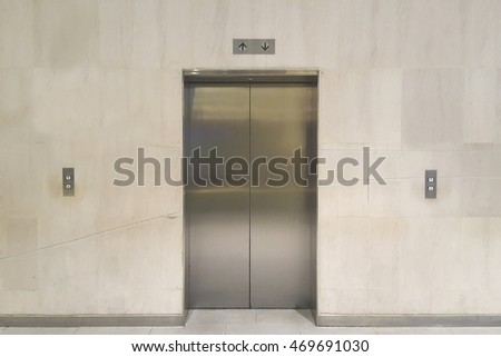 Elevator lift in office,choose ,choice
