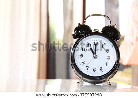 Eleven o'clock - stock photo