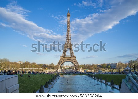 Elffel Tower Paris France