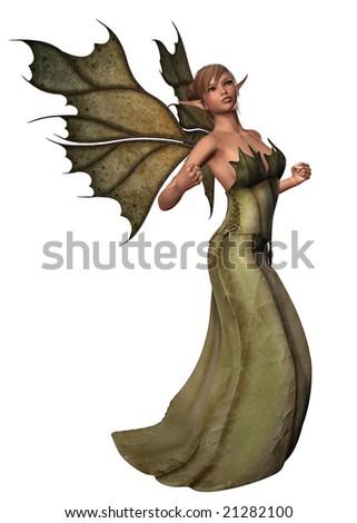 Elfin Wishes - stock photo