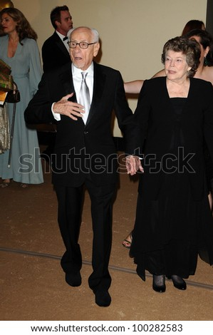 Eli Wallach and Anne Jackson at the  2nd Annual Academy Governors Awards, Kodak Theater, Hollywood, CA.  11-14-10