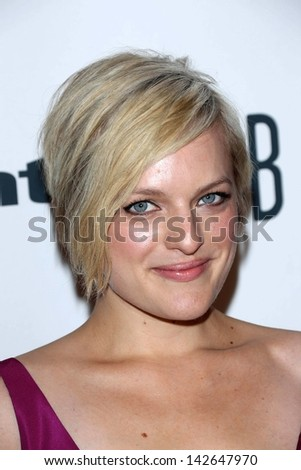 Elisabeth Moss at the 3rd Annual Critics' Choice Television Awards, Beverly Hilton Hotel, Beverly Hills, CA 06-10-13