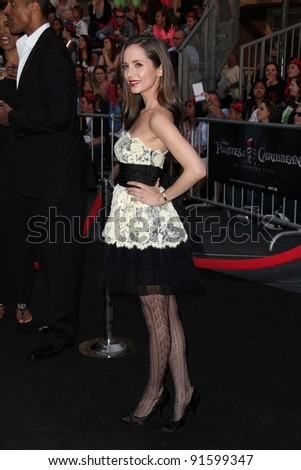 "Eliza Dushku at the ""Pirates of the Caribbean: On Stranger Tides"" World Premiere, Disneyland, Anaheim, CA. 05-07-11"