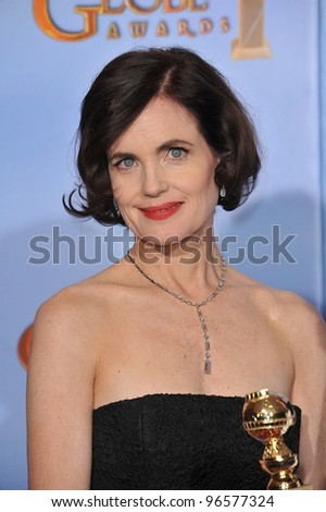 Elizabeth McGovern at the 69th Golden Globe Awards at the Beverly Hilton Hotel. January 15, 2012  Beverly Hills, CA Picture: Paul Smith / Featureflash