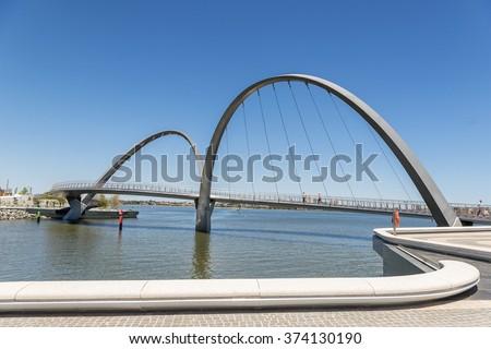 Elizabeth Quay on Perths waterfront