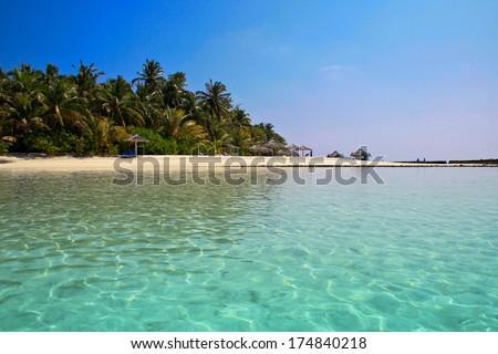Ellaidhoo, North Ari Atoll - stock photo