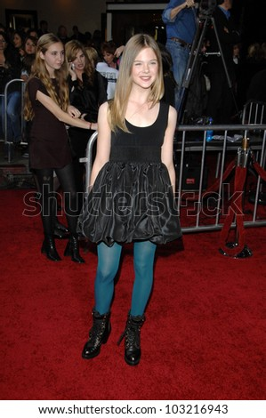 "Elle Fanning at the ""The Twilight Saga: New Moon"" Los Angeles Premiere, Mann Village Theatre, Westwood, Ca. 11-16-09"