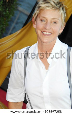 Ellen DeGeneres at the 36th Annual Daytime Emmy Awards. Orpheum Theatre, Los Angeles, CA. 08-30-09 - stock photo