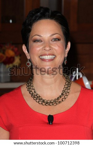 """Ellie Krieger at """"The Breakfast Project"""" Launch and unveiling of the new  """"Got Milk?"""" campaign, L'Ermitage, Beverly Hills, CA 02-24-12 - stock photo"""