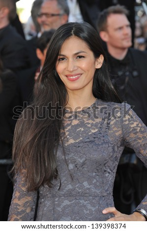 "Elodie Yung at the gala premiere of ""The Past"" (Le Pass) in competition at the 66th Festival de Cannes. May 17, 2013  Cannes, France"