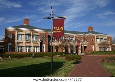 Elon University Mosley Center - stock photo