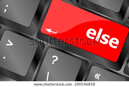 else button on computer pc keyboard key, keyboard button