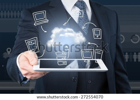 Email, cloud, phone.
