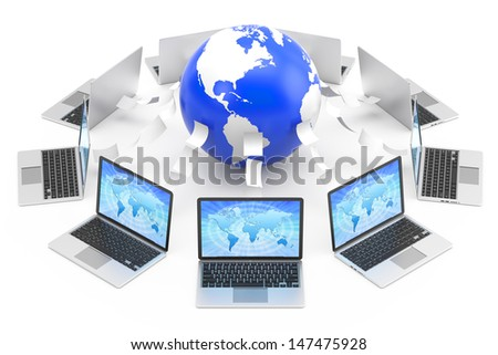 Email concept - stock photo