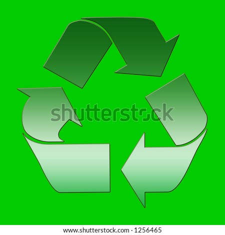 emblem of the to recycle