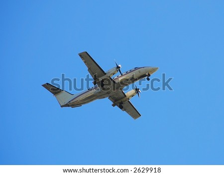 Embraer EMB-120 turboprop for regional flights