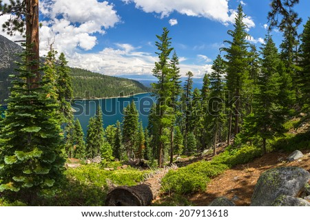 Emerald Bay, Lake Tahoe - stock photo