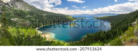 Emerald Bay, Lake Tahoe - stock photo