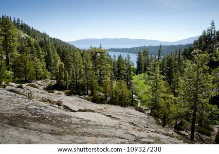 Emerald Bay State Park - Lake Tahoe - stock photo