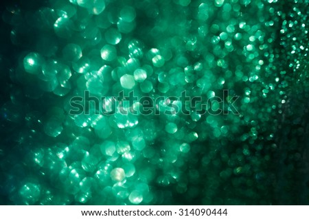 Emerald green shiny defocused lights bokeh background. Emerald Green Stock Images  Royalty Free Images   Vectors