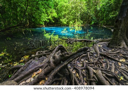 Emerald pool of thailand