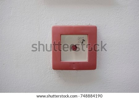emergency button