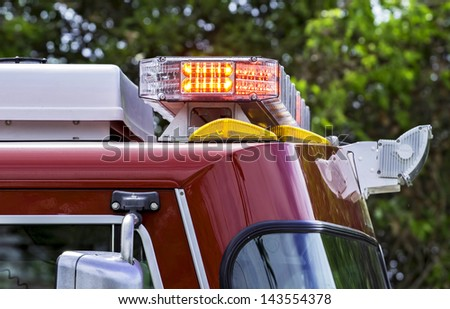Emergency lights - stock photo