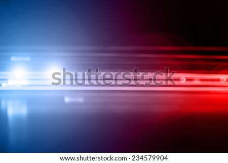 Emergency vehicle - stock photo