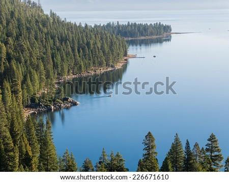 Emerlad Bay, Photos Taken in Lake Tahoe Area - stock photo