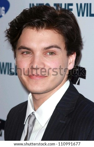 "Emile Hirsch at the premiere of ""Into the Wild"". Directors Guild Of America, Los Angeles, CA. 09-18-07"