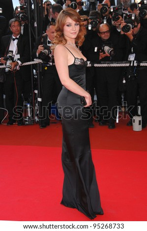 Emilie Dequenne at the 60th anniversary gala at the 60th Annual International Film Festival de Cannes. May 20, 2007  Cannes, France.  2007 Paul Smith / Featureflash