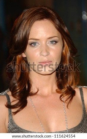 Emily Blunt at the 2007 Crystal and Lucy Awards. Beverly Hilton Hotel, Beverly Hills, CA. 06-14-07