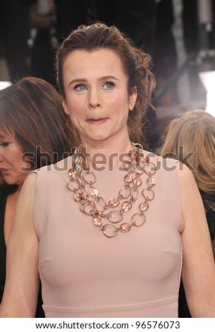 Emily Watson at the 69th Golden Globe Awards at the Beverly Hilton Hotel. January 15, 2012  Beverly Hills, CA Picture: Paul Smith / Featureflash
