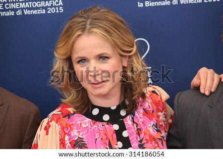 Emily Watson attends 'Everest' Photocall during the 72nd Venice Film Festival on September 2, 2015 in Venice, Italy. - stock photo