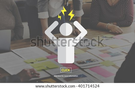 Emotions Feelings Anger Furious Expression Concept - stock photo
