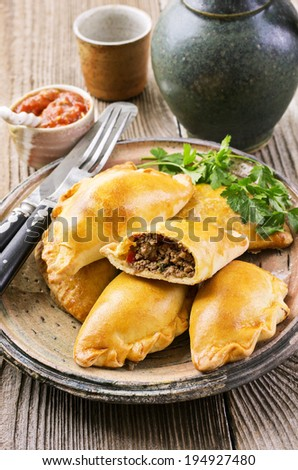 empanadas  - stock photo